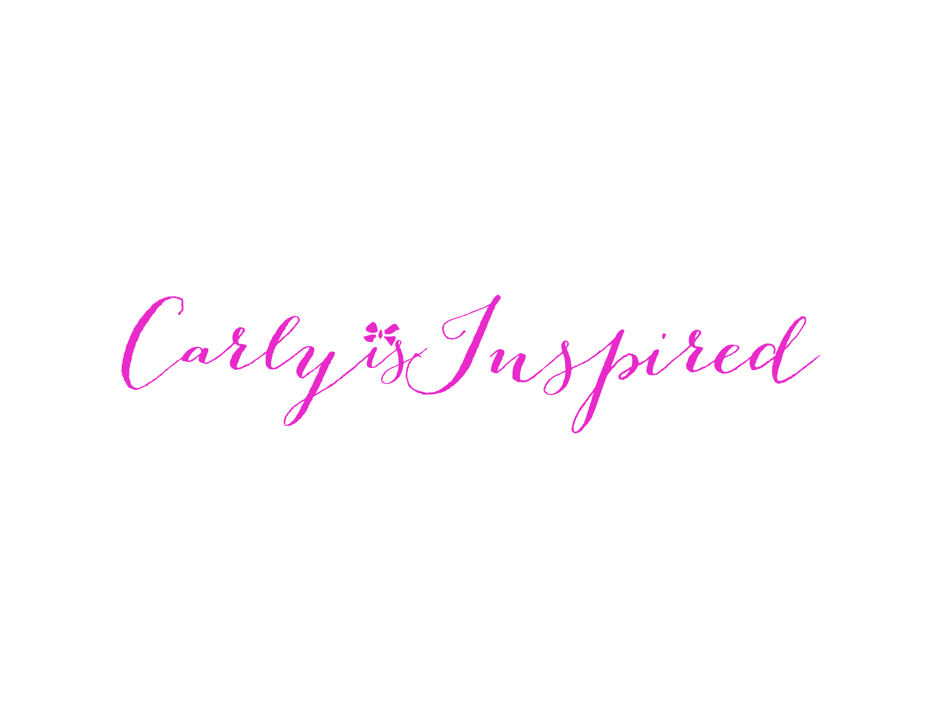 Welcome to Carly is Inspired!