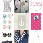 Nautical Style: Anchors Aweigh