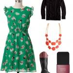 Fall Fashion: Dresses & Boots