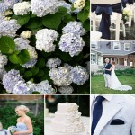 Hydrangea and Navy Wedding Inspiration