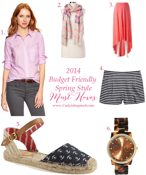 Budget Friendly Spring Must Haves