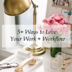 Inspired Ideas: How to Love Your Work and Workflow