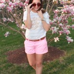 Spring Style: Lindsay Letters Tee