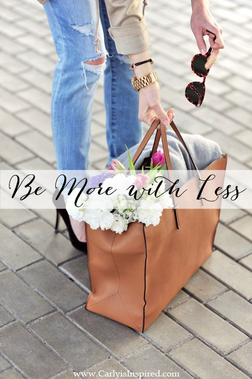 Be More with Less