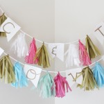 New Arrivals: Monogram Tassel Garlands + A Giveaway!