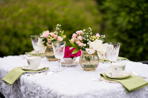 Featured on Every Last Detail: Tea Party Bridal Shower Shoot