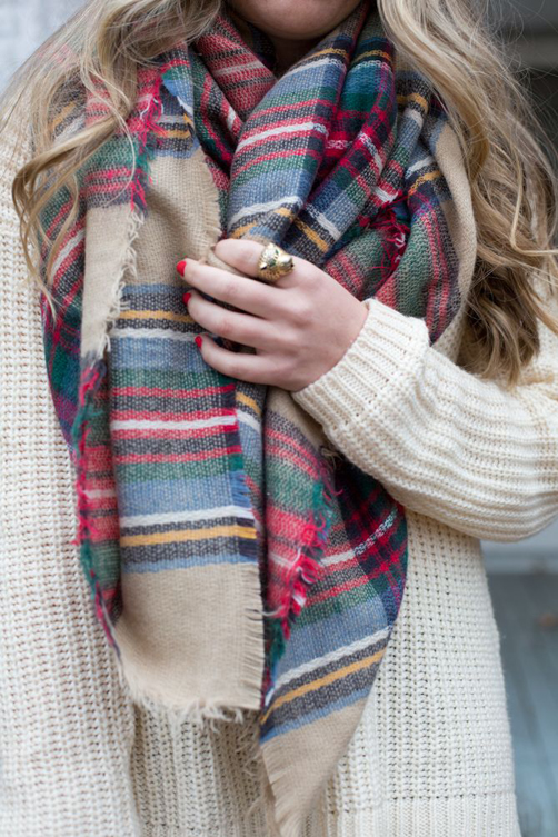 Plaid-Scarf-Fall-Style