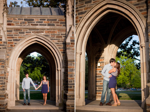 Duke Engagement Session by Carolyn Marie Photography