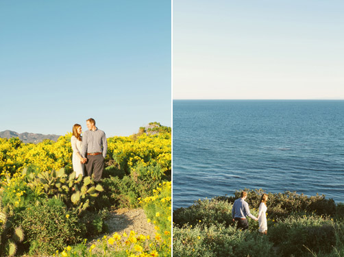 Malibu Engagement Session by We Call This Love