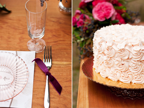 Romantic Pink and Red Elopement Inspiration from Kelly Dellinger Events