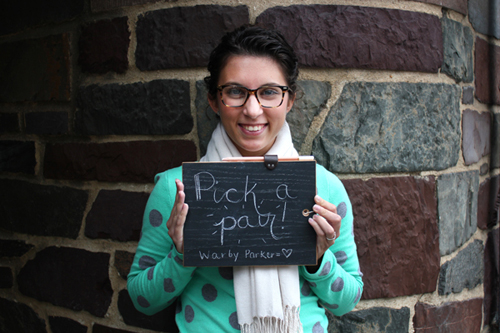 Featured: Taking a Warby Parker Poll on Heart Love Weddings