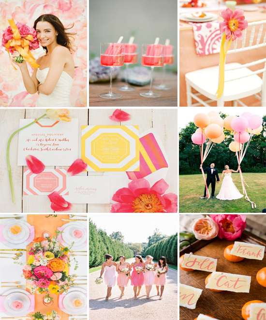 Celebrating Lilly Pulitzer for Target: Citrus Wedding Inspiration